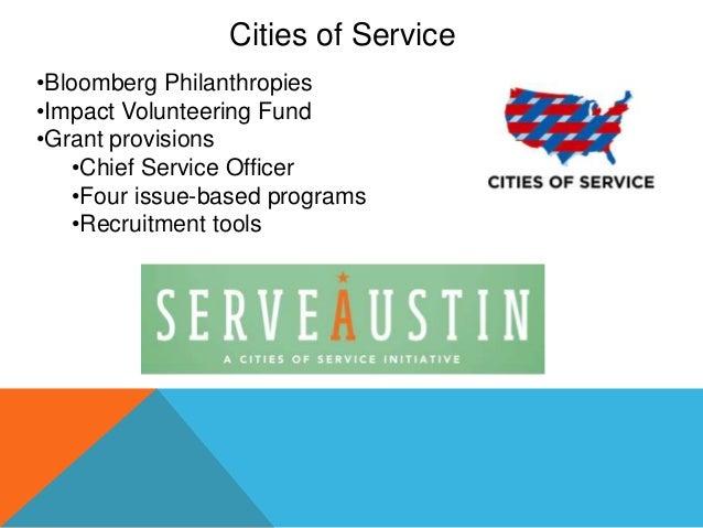 City of Austin -  Volunteerism Benchmarking Study Slide 3