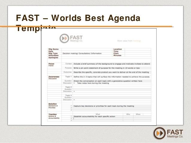 how to create a meeting agenda template