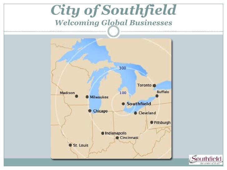 City of SouthfieldWelcoming Global Businesses