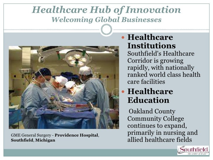 Healthcare Hub of Innovation                   Welcoming Global Businesses                                              H...