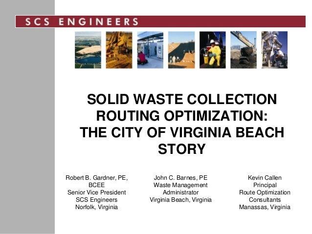 City Of Virginia Beach Waste Management