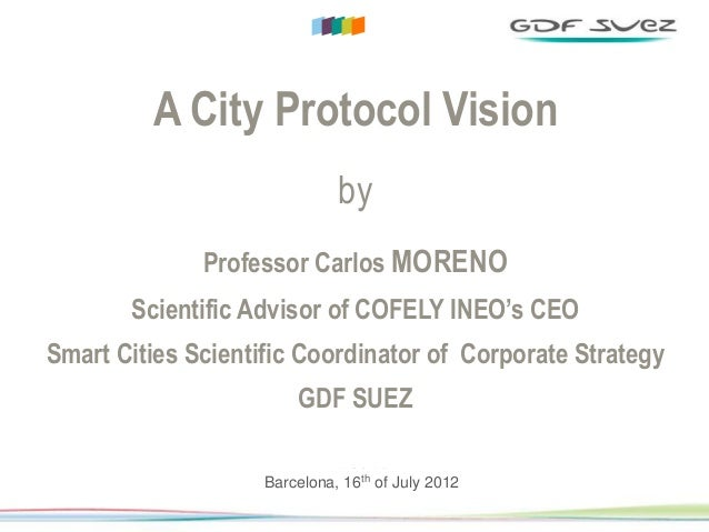 DIRECTION COMMERCIALE & MARKETING GROUPE                   A City Protocol Vision                                         ...