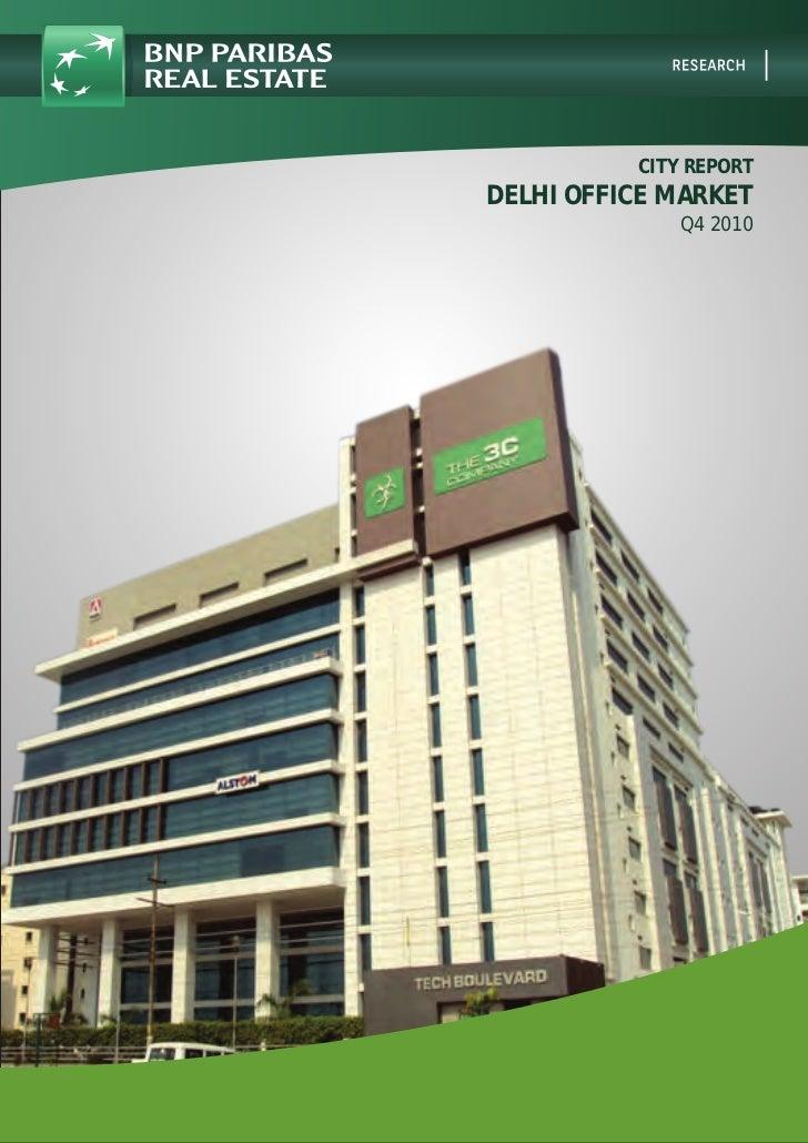 City Report   Delhi Office Market   Q4 2010