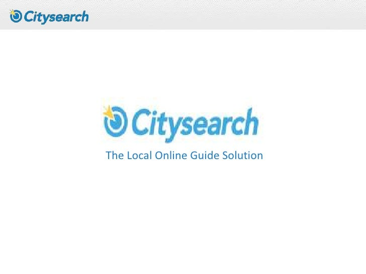 The Local Online Guide Solution<br />