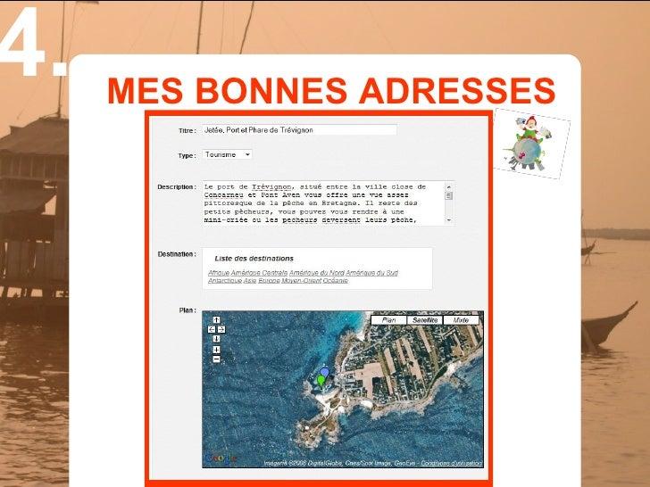 4.   MES BONNES ADRESSES