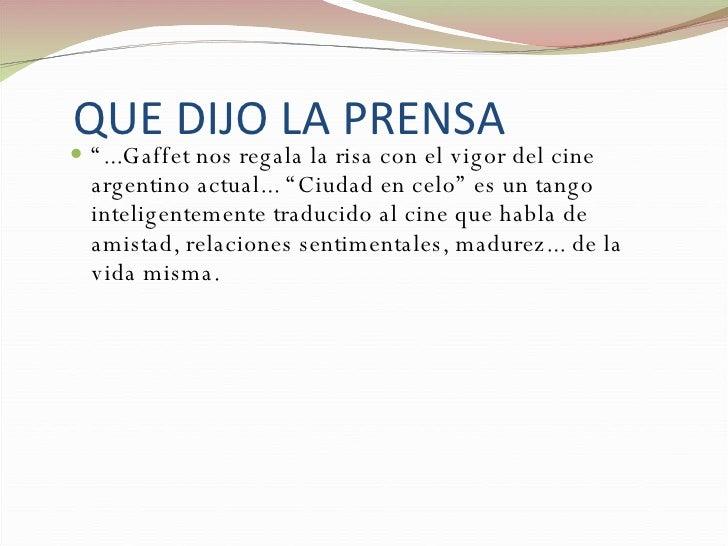 Ciudad En Celo Slide 3