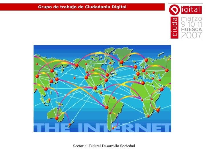 Grupo de trabajo de Ciudadanía Digital