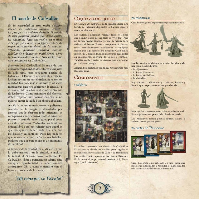 Ciudad de ladrones (Reglas) - Juego de mesa Slide 2