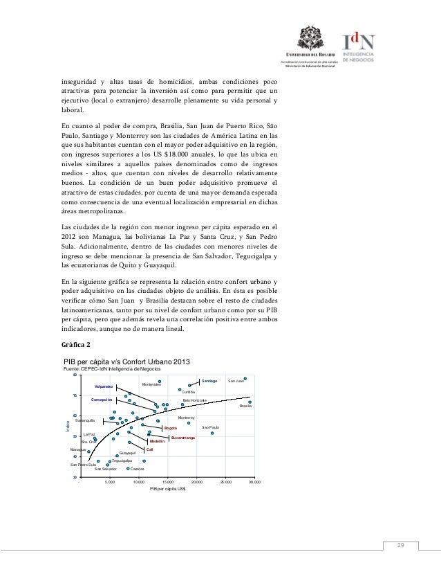 29inseguridad y altas tasas de homicidios, ambas condiciones pocoatractivas para potenciar la inversión así como para perm...