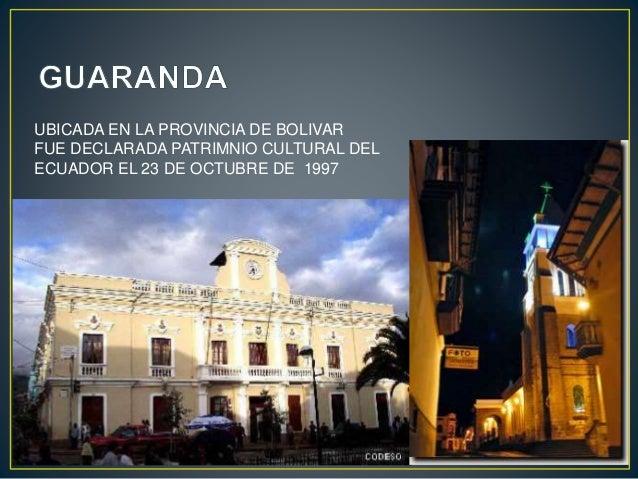 Ciudades Patrimoniales