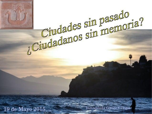 19deMayo2015 InmaculadaGómezVillegas