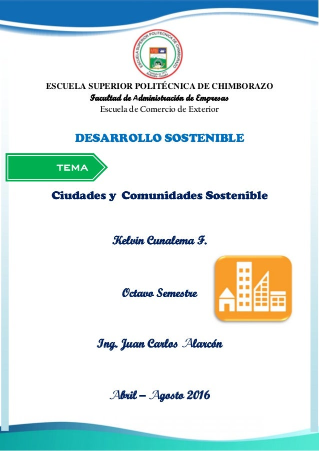 TEMA ESCUELA SUPERIOR POLITÉCNICA DE CHIMBORAZO Facultad de Administración de Empresas Escuela de Comercio de Exterior DES...