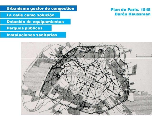 Urbanismo gestor de congestión La calle como solución Parques públicos Instalaciones sanitarias Dotación de equipamientos ...