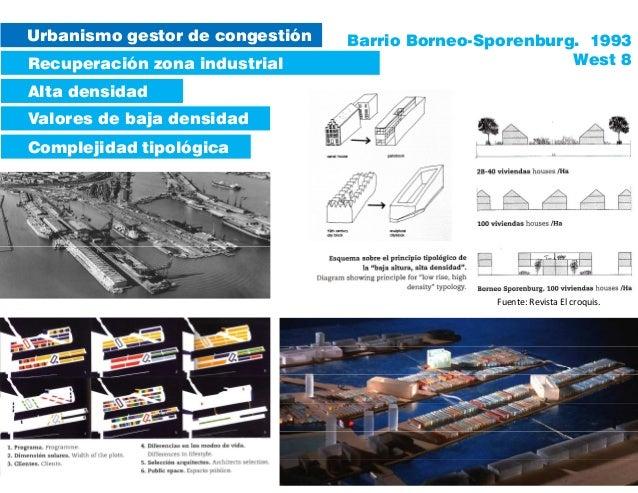 Urbanismo gestor de congestión Recuperación zona industrial Valores de baja densidad Complejidad tipológica Alta densidad ...
