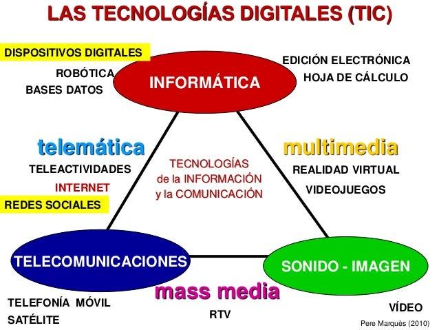 TIC: el objetivo no es innovar,  el objetivo es mejorar  la formación del alumnado y el éxito escolar.  10 ideas para lograrlo Slide 3