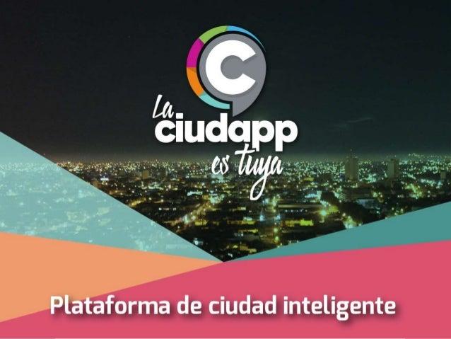 Ciudapp es una Plataforma SmartCity Horizontal que une a todas las áreas municipales no solo para hacer la gestión y analí...