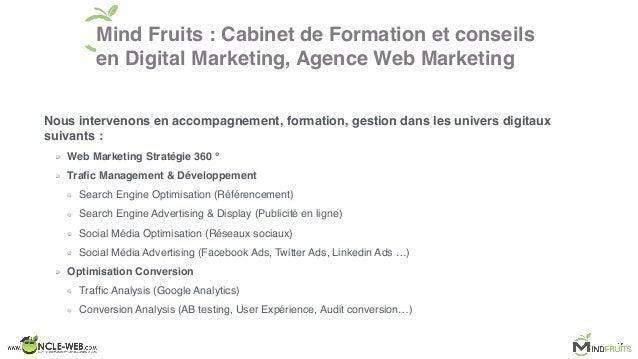 Conference : Comment integrer une strategie digitale efficace et optimiser sa conversion Slide 3