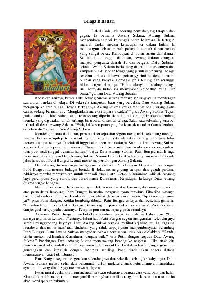 Kumpulan Dongeng Saga Mitos Legenda Dan Fabel