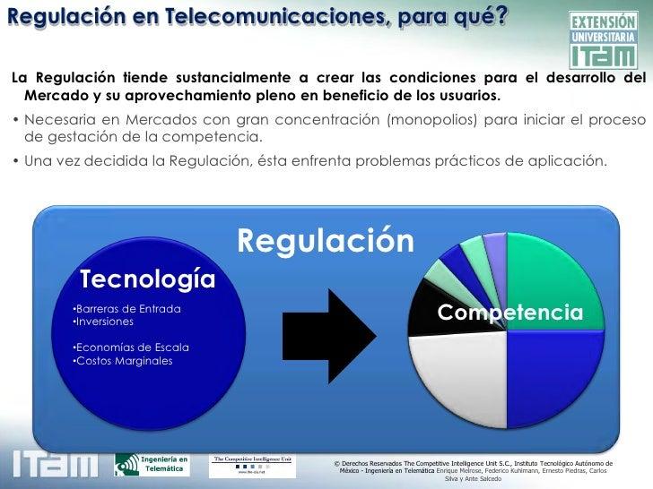 Fundamentos de Regulación en Telecomunicaciones Slide 3