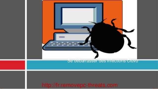 Se débarrasser des infections Ciuvo http://fr.removepc-threats.com