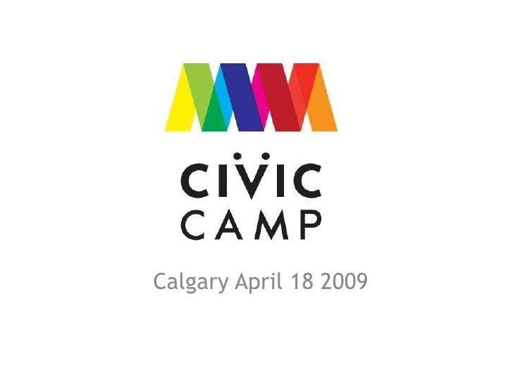 Calgary April 18 2009