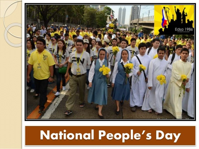 CIVIC CELEBRATIONS IN THE PHILIPPINES