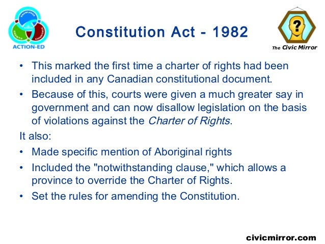 CANADIAN CONSTITUTION ACT 1982 PDF DOWNLOAD