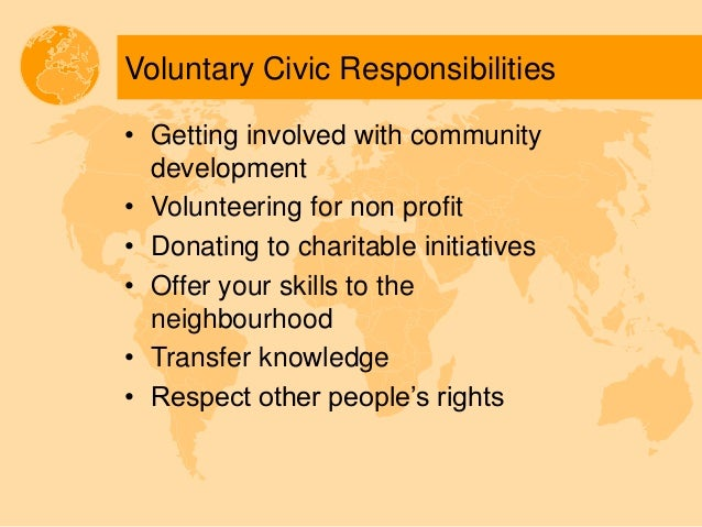 What Is Civic Responsibility?