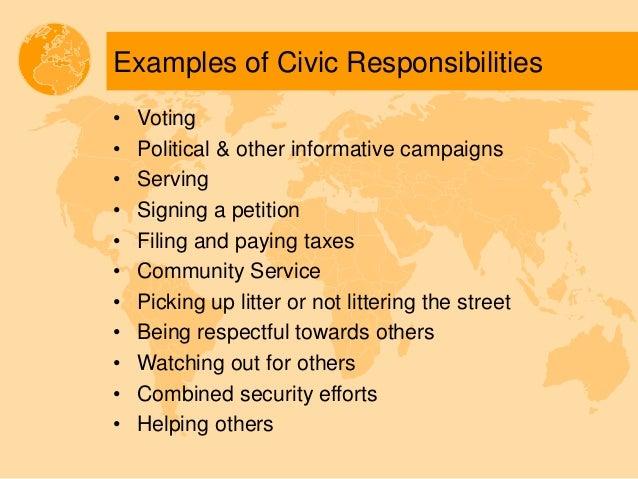 Civic Responsibility By Fola Daniel Adelesi