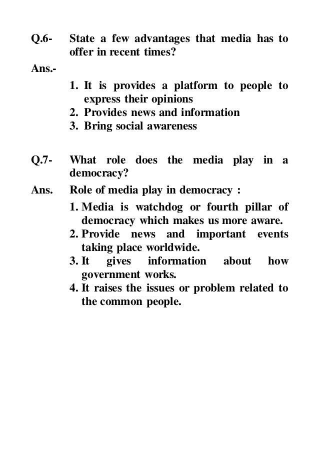 Cambridge Social Science, Class 7 Civics