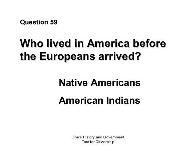 Civics test United States citizenship 2