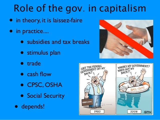 role of government in capitalism