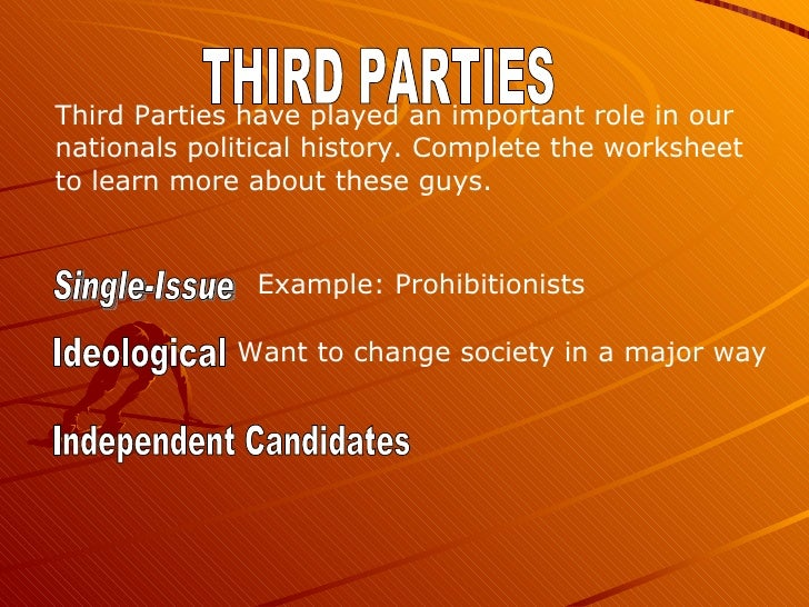 an overview of the independent third parties in the american political system Overview business  business  third political parties have had little success in american politics the us political system makes it difficult for third parties .