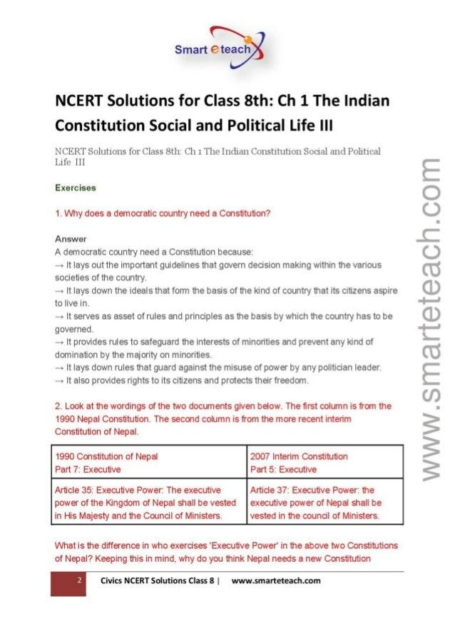 ncert solution class 8 english chapter 1