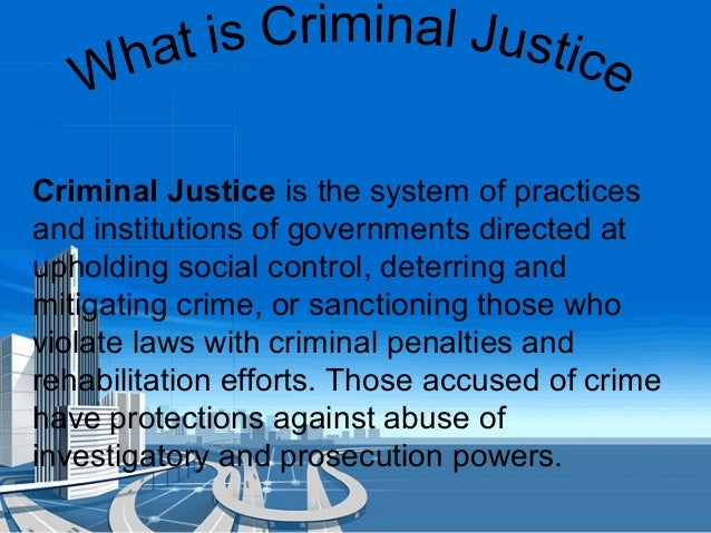 Systems Justice