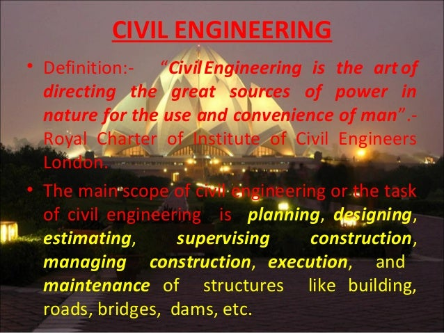Civil by farhad sefat for Definition construction