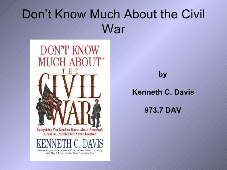 Civil War Research 5th Grade