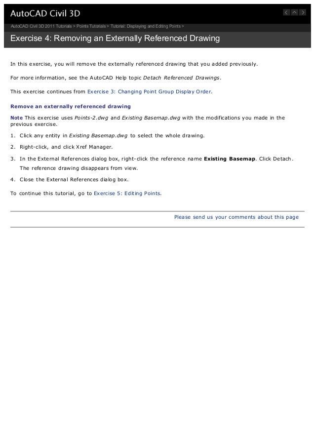 Civil 3 d 2011 tutorials.