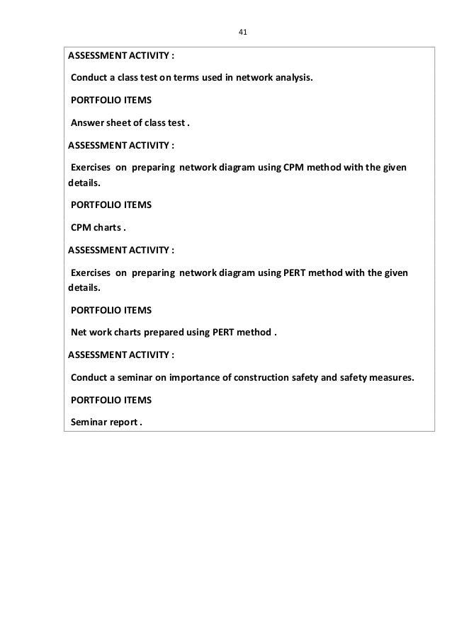 Civil construction technology 1 2 for General motors assessment test