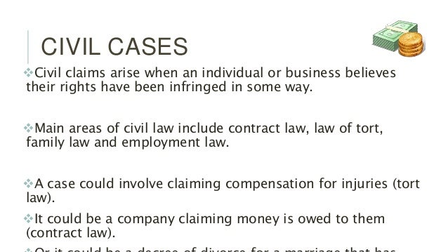 which court deals with civil cases