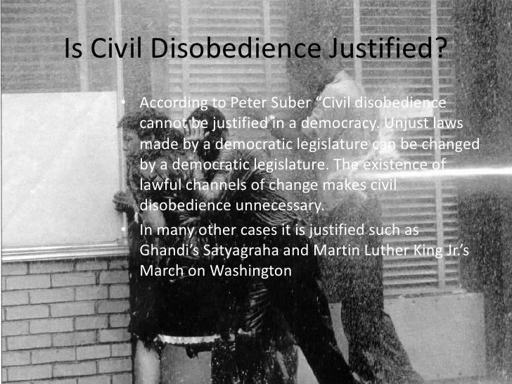 full civil disobedience essay