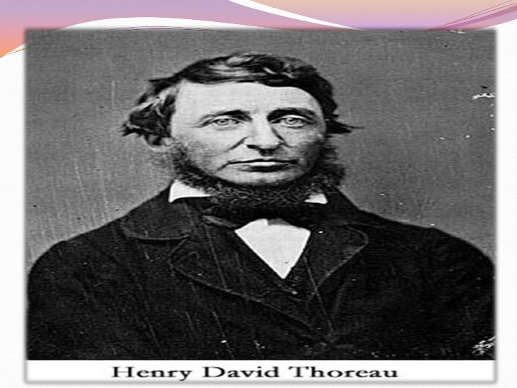 Henry David Thoreau Biography Pdf