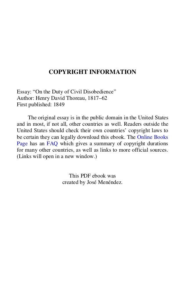 Civil disobedience Slide 2