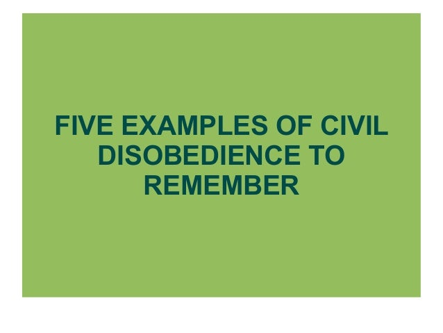 the underlying meaning of civil disobedience Henry david thoreau not only wrote walden he is also responsible for a small pamphlet titled civil disobedience, which recommends that - when a us.
