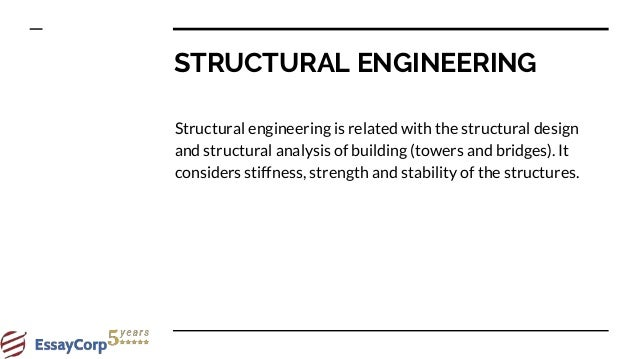 Structural Engineering Deals With Natural Resources
