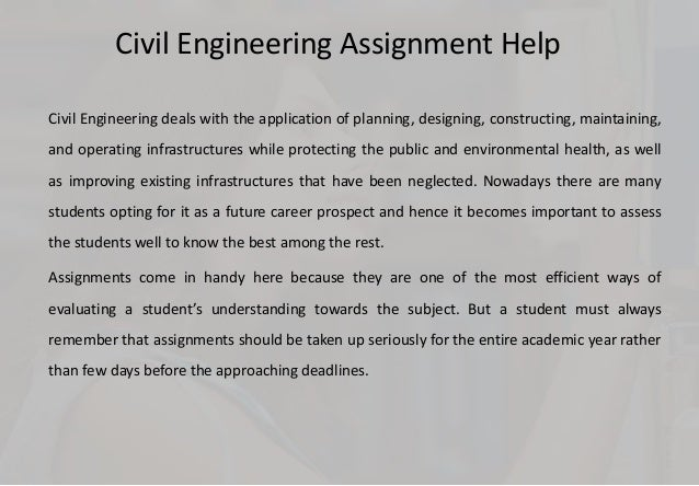 civil engineering assignment help service for better results civil engineering assignment help service for better results assignments web 2