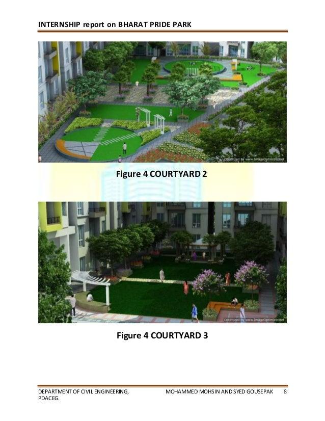 civil engineering internship report pdf