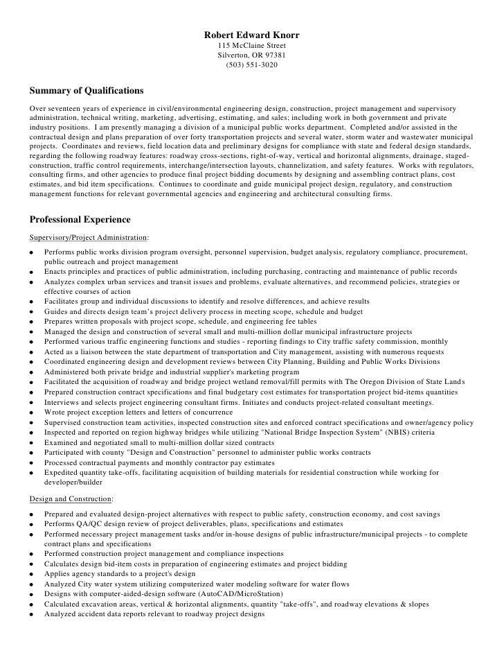 civil engineering rek resume 2009