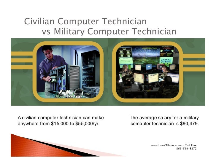 Military vs. civilian: Which pays better?