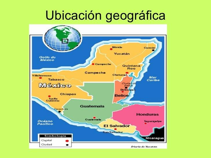 Civilizaci n maya for Cultura maya ubicacion